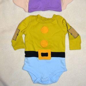 ed925567d Disney Costumes   Baby Dopey Dwarf Onesie Hat   Poshmark